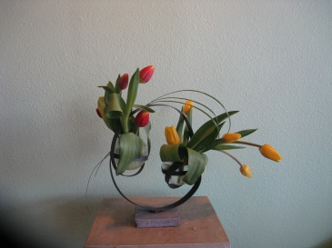 Sculptural Tulips
